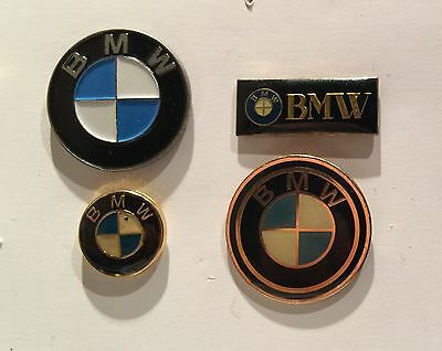 Lot 4 PIN'S PIN PINS CAR AUTO VOITURE MOTO CAMION LOGO EMBLEME BLASON BMW