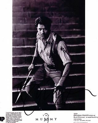 Brendan Fraser, The Mummy, Genuine Hand Signed 10x8 Photo, Comes With COA