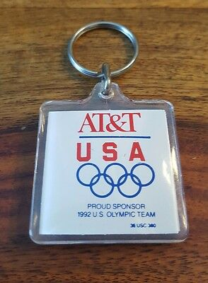 1992 AT&T US Olympic TEAM USA keychain