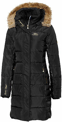 Mountain Horse Ladies Belvedere Down Coat Equestrian Trainers Coat sz M Blk NWT