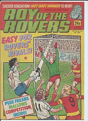 Roy of the Rovers Comic , 6th April 1985