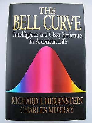 The Bell Curve by Richard J Herrnstein & Charles Murray - Hardback 1st Edition