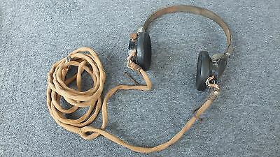 VTG 1931s Military Radio Headphones Northern Electric Co. Canada Patented 1929s