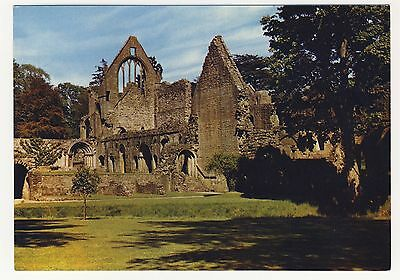 Old Postcard - Dryburgh Abbey, South Transept and Cloisters - Unposted 0209