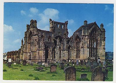 Old Postcard - Melrose Abbey - Unposted 0212