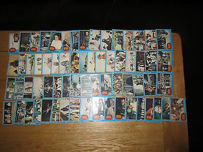 Topps Star Wars 1st Series Blue 1977 - COMPLETE SET   No.  1 to 66