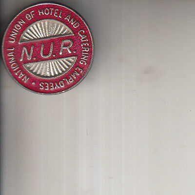 Nur Rmt Hotel & Catering Sector Railway Transport Union Trade Union Badge