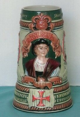 Christopher Columbus 500th Anniversary Collectors Stein