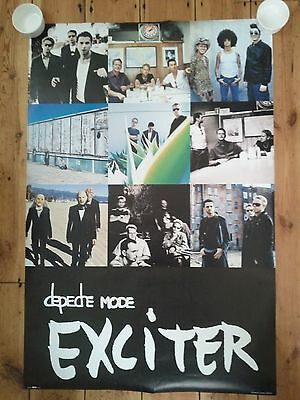 Depeche Mode - Very Rare Exciter Tour Poster 2001