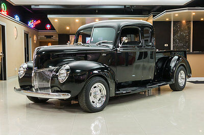 1940 Ford Other Pickups  Custom, Frame Off Build! GM 350ci, 700R4 Automatic, Vintage A/C, PS, 4-Wheel PDB