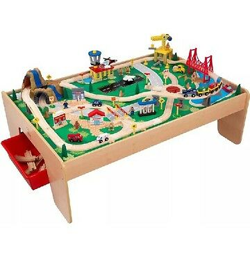 KidKraft 17850 Waterfall Mountain Train Set and Table New =