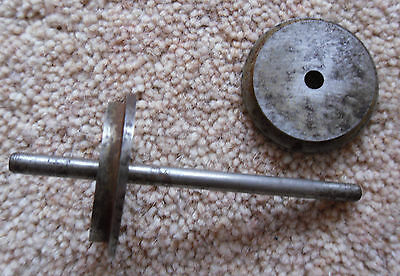 1 x Metal Wheel & Axle Set Possibly G Scale