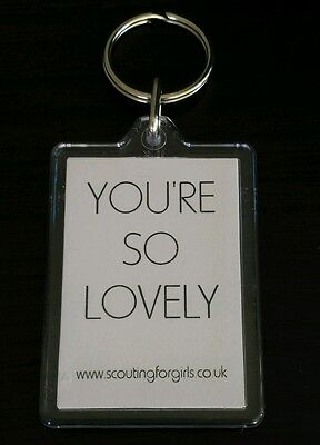 Scouting for Girls - official keychain