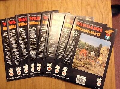 Miniature Wargames magazines, issues 93 - 100