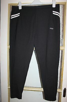 Women Lagear Black Stretch Sports Running Yoga Leggings Pants Jogging Size 18