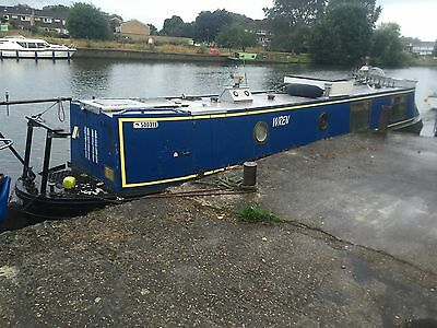 40ft ready to move in narrowboat liveaboard houseboat near London