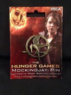 NECA The Hunger Games - Mockingjay Metal Pin film replica - 2012  - (G21)