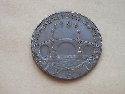 1795 - Suffolk - Beccles - Halfpenny token - DH#16