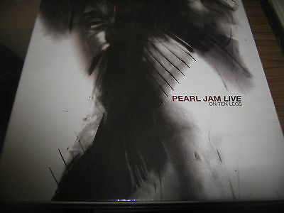 PEARL JAM Live on Ten Legs Limited Edition Super Deluxe Box Set - 2 LP + 1 CD