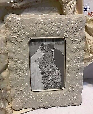 """Lenox Wedding Promised Collection 4"""" X 6"""" Frame New!"""