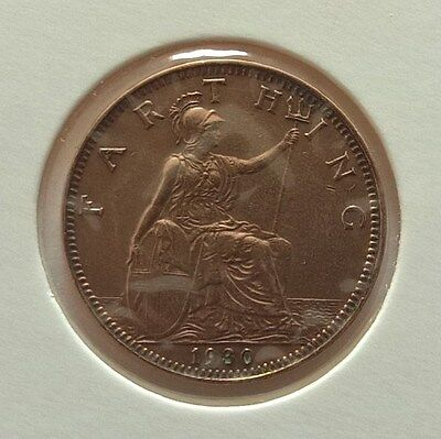 British Coin Farthing 1930 King George V