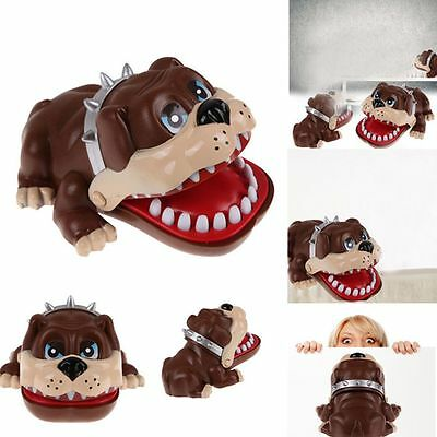 Gift Finger Bulldog Mouth Dog Tooth Dog Dentist Game Bite Finger Toy
