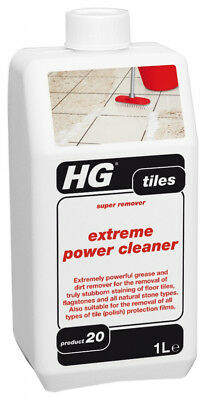 HG Extreme Power Cleaner Stain Remover 1L Litre Professional Clean