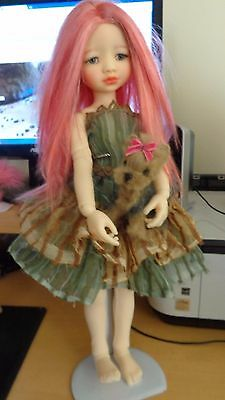 Dolls Wig MSD Jpop Mouse French Blush 7/8  Kaye Wiggs
