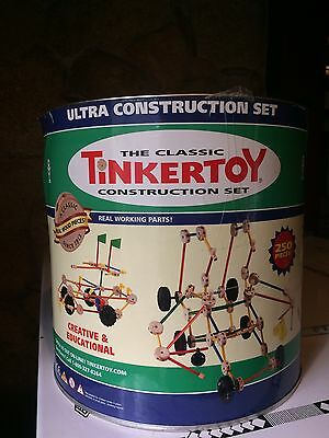THE CLASSIC TINKERTOY ULTRA CONSTRUCTION SET Almost COMPLETE!