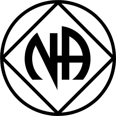 A Narcotics Anonymous or NA decals Buy 3 get 1free!!! Recovery or Sobriety