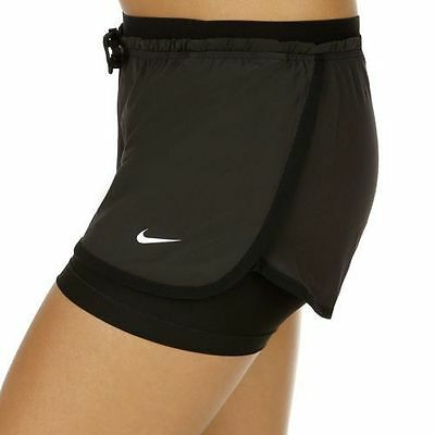 NEW Nike Performance FULL FLEX 2-IN-1 -INNER SHORTS-Running Gym Shorts SIZE: XS