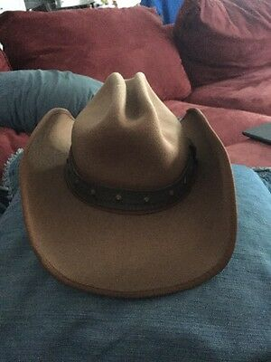 Toby Keith 100% Wool Cowboy Hat By Scala Size S/M