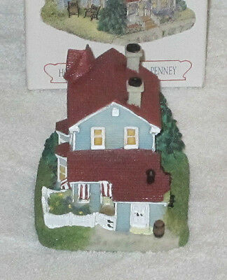 Liberty Falls Americana Collection Home Of Seamstress Ida Penney 1998