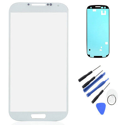 Touch Screen Lens Glass with Adhesive+tools for Samsung Galaxy S4 IV i9500 i9505