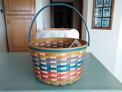 Longaberger 2016 Collector's Club Limited Apple basket & prot NEW fall colors