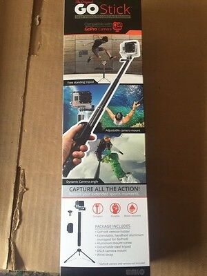 Brand New Emio The Original Go Stick GoPro DSLR Self Video Recording Mount Strap