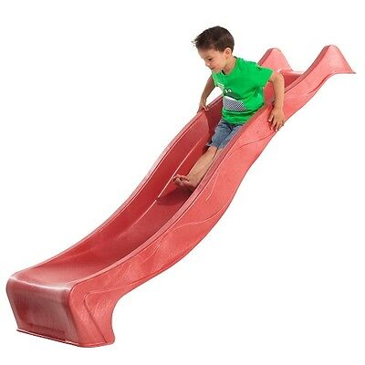 SLIDE KBT 1.2M PLATFORM RED Water Slide Kids Cubby House Playground Equipment