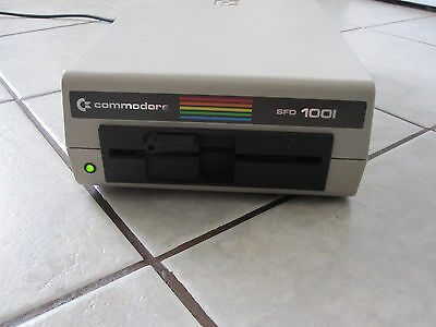 Commodore 64 SFD-1001 c64 PET Floppy Drive - New old stock. VERY RARE!