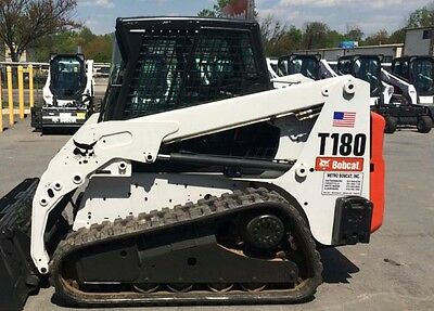 Bobcat skidsteer T180 track loader decal kit