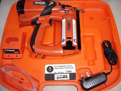 Paslode Impulse IM65 F16 Cordless Gas Brad Nailer - Nail Gun