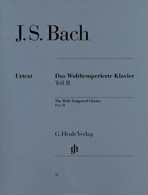 JS Bach - Preludes and Fugues Book 2 - PIANO - HENLE EDITION 16 - AMEB Gr 7&8