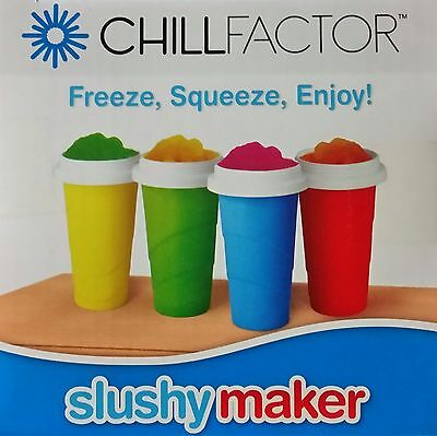 Chill Factor Slushy Maker Available in Red, Blue or Green