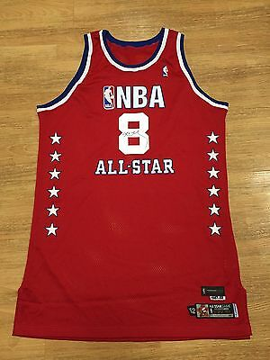 Autograph 2003 Nba All Star Game Kobe Bryant Personal Jersey Signed Pe Sample Au