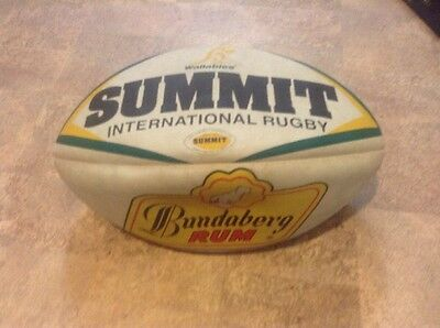 Summit Evolution Rugby Ball w/ Hand Stitched Synthetic Outer