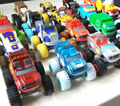 Fisher Price Blaze and the Monster Machines Diecast Kids Toy toys loose Cars