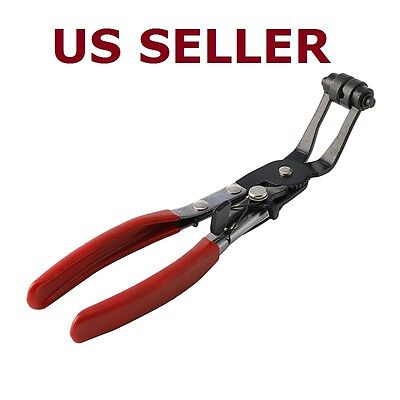 New Angled Swivel Jaw Locking Car Pipe Hose Clamp Pliers Fuel Coolant Clip