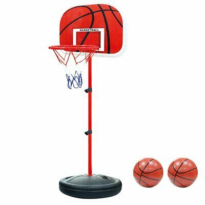 Children Mini Adjustable Basketball Back Board Stand & Hoop Toys New Year Gift