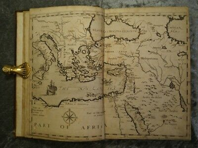 Travelbook Levant - Orient - Asia 48 Copper Engravings George Sandys 1615 #b861S