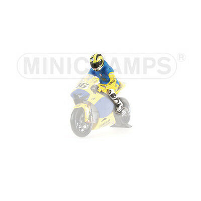 Minichamps 1/12 Valentino Rossi Figure 2006 Sachsenring Riding motogp model