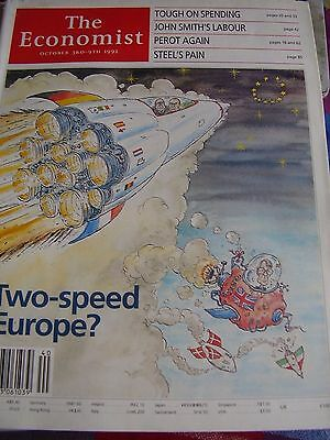 The Economist October 1992 Tough On Spending John Smiths Labour Perot Again